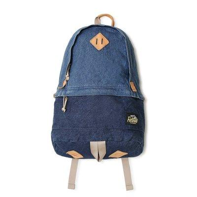 美國東村【FILTER017】Freely Daypack - Washed Denim 水洗單寧後背包