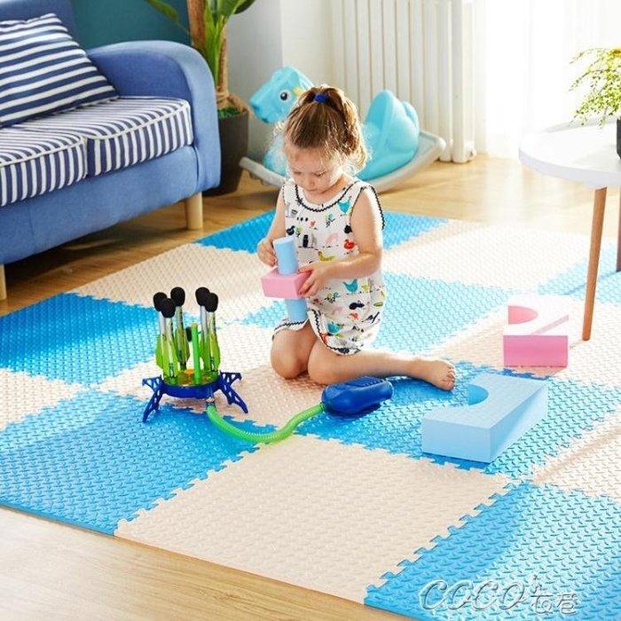 兒童爬行墊 兒童臥室拼圖地板爬行墊寶寶大號加厚泡沫地墊拼接榻榻米家用