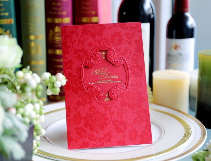 『潘朵菈精緻婚卡』影像設計喜帖 ♥ 立體浮雕18元喜帖系列 ♥ 喜帖編號: CP-51033