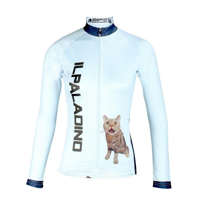 【Paladin】女款長袖車褲衣 :: 貓咪