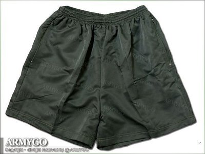 【ARMYGO】陸軍現役軍綠色短褲