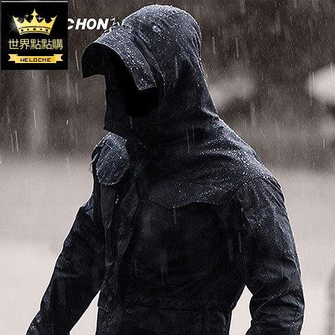 諜影春秋戰術外套男戶外防風衣中長款M65軍迷特戰地 衝鋒衣 防風衣 休閒外套 薄款外套 速乾衣