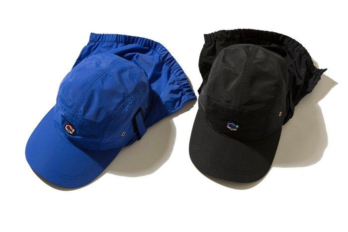 { POISON } DeMarcoLab DMC+2 SAFARI HAT 防潑水尼龍面料 收納式防曬裁片戶外五片帽