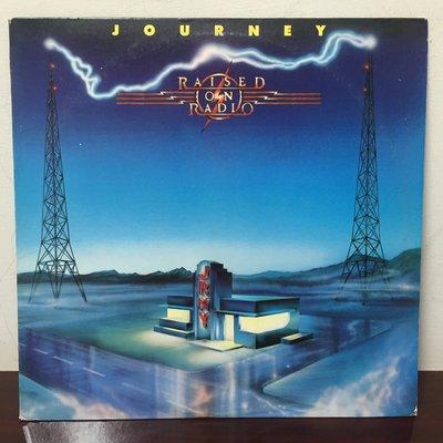 晨雨黑膠【西洋】美版/Journey – Raised On Radio (1986首版)
