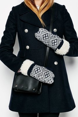 MISHIANA 英國品牌JACK WILLS HEUGH FAIRISLE MITTEN(特價出售)
