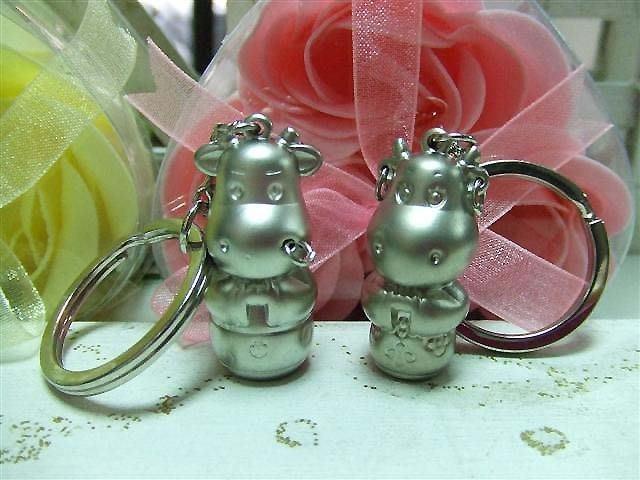 ☆創意小物店☆ 牛郎織女 銀牛鑰匙扣/創意可愛金屬鑰匙圈 時尚造型個性飾品