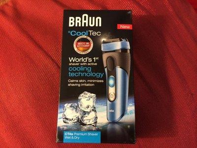全新未拆封, 德國製, 百靈 BRAUN CT4S 電動刮鬍刀