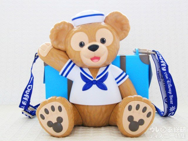 ☆Juicy☆日本 海洋迪士尼 DISNEY Duffy 達菲熊  爆米花 桶 置物桶 收納桶 現貨 生日禮物 交換禮物