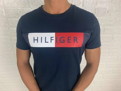 Look 鹿客 Tommy Hilfiger 男女款 經典LOGO 休閒 舒適 短袖T恤