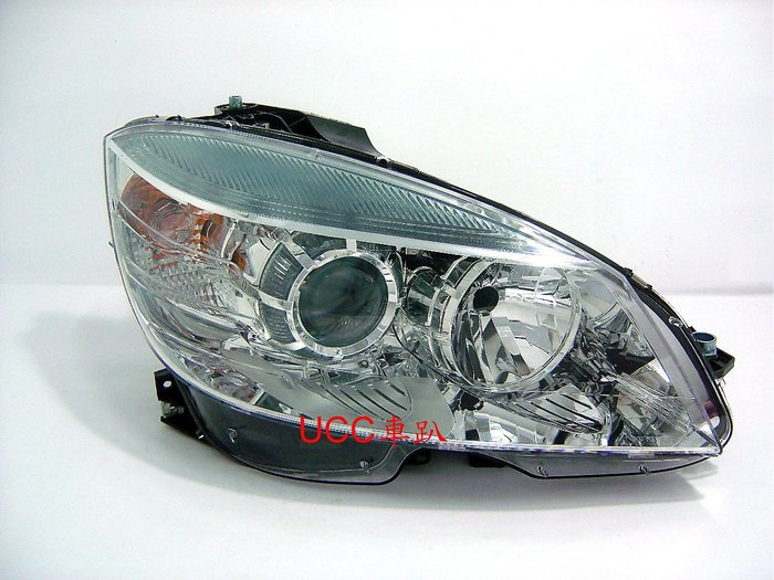 【UCC車趴】BENZ 賓士 W204 07 08 10 09 11 美規版 原廠型 晶鑽大燈 TYC製 一組10600