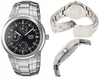 日本正版 CASIO 卡西歐 STANDARD EF-305D-1AJF 男錶 手錶 日本代購