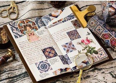 陌墨和紙膠帶 10cm裝飾拼貼膠帶 手帳膠帶相冊日記DIY裝飾 4款選
