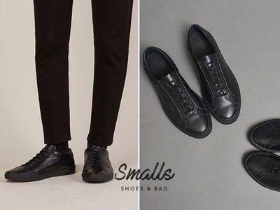 【SMALLS】潮流街拍 黑色真皮休閒鞋 球鞋(5色) adidas Clarks neighborhood可參考