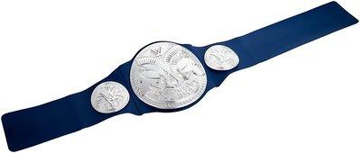 [WWE Taiwan]正版 SmackDown Tag Team Champion 藍色SD品牌雙打冠軍玩具版腰帶特價