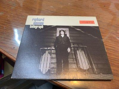 *還有唱片行*RICHARD DAVIES / TELEGRAPH 二手 Y18894