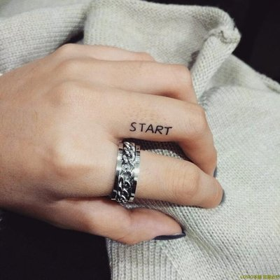 ☆.格林衣捨o 黑度 / ROTATING CHAIN 泰式轉動旋轉中性鏈條紋理情侶男女對戒指R3G65
