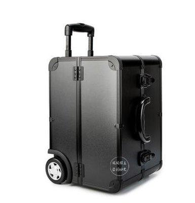 【優上】汽車專業化妝箱拉桿紋繡工具箱多層大容量美甲美容箱黑色