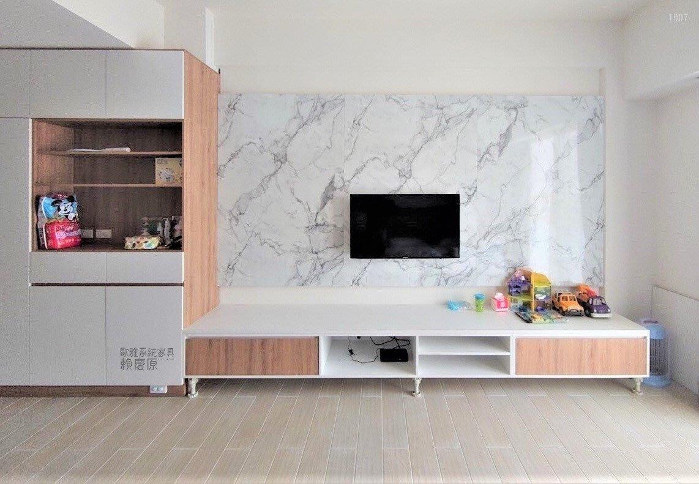 【歐雅系統家具】靈活運用空間 仿石材 電視櫃 餐邊櫃