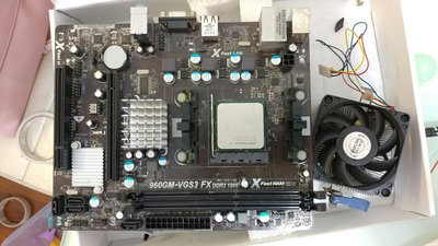 ASROCK AM3 MOTHER BOARD + AMD Phenom II X4 CPU