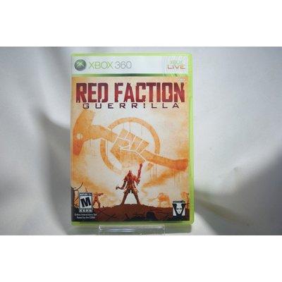 [耀西]二手 美版 XBOX 360 赤色戰線:游擊戰隊 RED FACTION GUERRILLA 含稅附發票