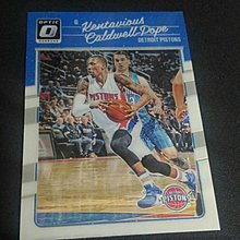 2016-17 DONRUSS OPTIC~Kentavious Caldwell-Pope 金屬普卡 # 102