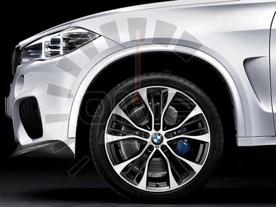《OME - 傲美國際》BMW 原廠 OEM M Performance  599M 21吋 鋁圈 F15 X5