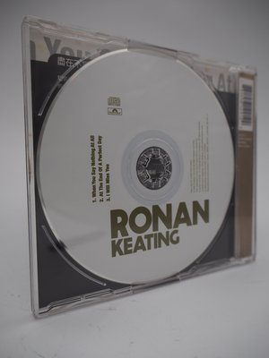 When You Say Nothing At All 單曲CD(絕版)_Ronan Keating  〖專輯〗CIZ