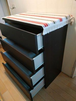 IKEA MALM 4抽衣櫃 收納櫃 原價3499元 自取台大公館 展示品 福利品 出清 台北市