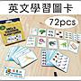 河馬班玩具- 英文學習識字圖卡