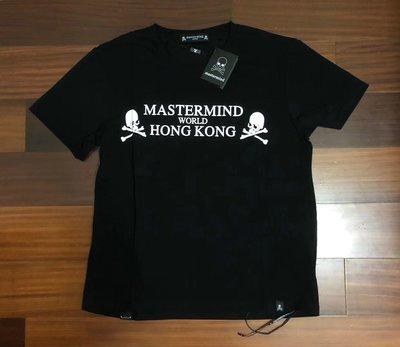 日本mastermind japan hongkong香港限定黑色骷髏頭短袖T恤tee