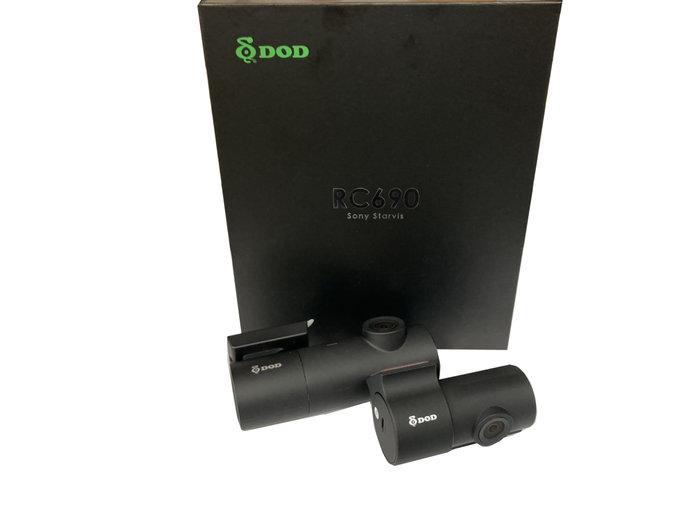 DOD RC690【含安裝/送64G+DP4】GPS測速/WIFI 雙鏡 口紅姬/行車記錄器/RC600S 後續款