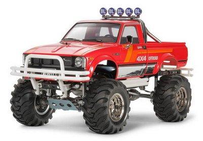 大千遙控模型  TAMIYA 47394 Toyota 4x4Pick-Up Mountain Rider四驅大輪車