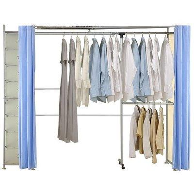 巴塞隆納家具─AH-12伸縮衣櫥(附八層櫃)