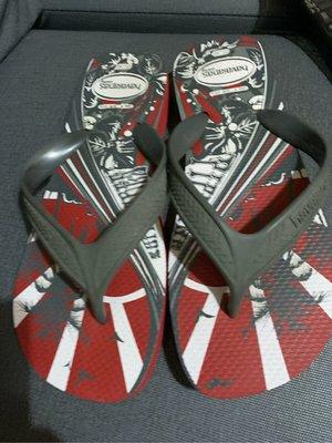 巴西拖鞋 havaianas –男夾角鞋Size USA. 9. Rut 43厚底 2cm適合41-42穿9成🆕