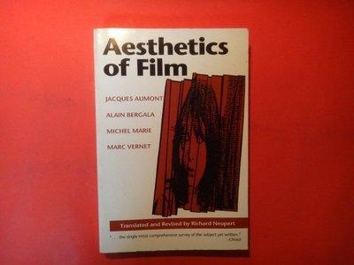 【愛悅二手書坊 02-05】Aesthetics of Film (Texas Film Studies Series)