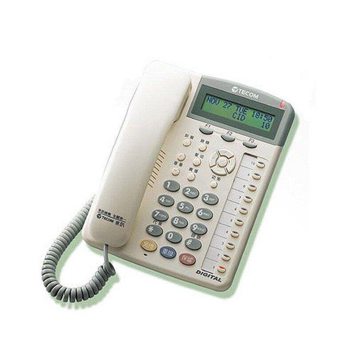 數位通訊~東訊 10鍵話機 SD-7710 E 2台 TECOM 自動總機 來電顯示