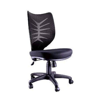 螞蟻雄兵 LV-923 網布辦公椅(黑色款) 電腦椅 職員椅 會議椅 電競椅 透氣耐坐 人體工學 辦公桌椅 無扶手 椅子