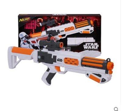 美系玩具孩之寶 星際大戰 NERF槍 starwars E7原力覺醒白兵武器B3173玩具模型人偶