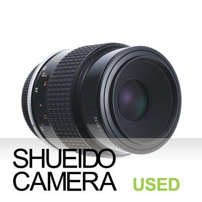 集英堂写真機【6個月保固】中古極上品 NIKON NIKKOR Ai 105mm F4 MICRO 微距鏡頭 12047