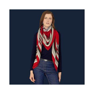 香港直郵Hermes Pegase Paysage shawl 絲巾 H243334S09小叮噹影迷