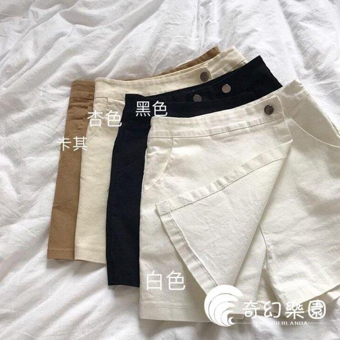 YEAHSHOP 短褲新款韓版夏季女裝修身高腰褲短褲女學Y185