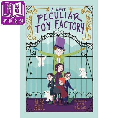 英文 Alex Bell: A Most Peculiar Toy奇特的玩具工場 章節書 9-12歲