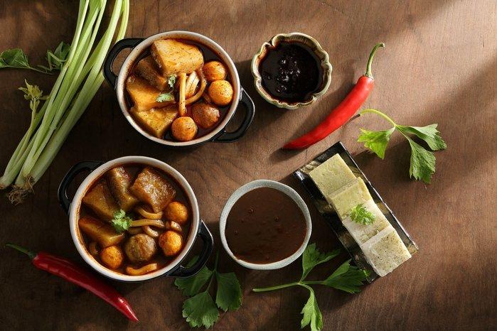 大相撲麻糬---特別版===特製經典麻辣魚蛋組---日式蜂蜜烤麻糬