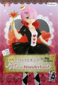 日本正版 景品 FURYU Re:從零開始的異世界生活 拉姆 in Wonderland SSS 模型 公仔 日本代購