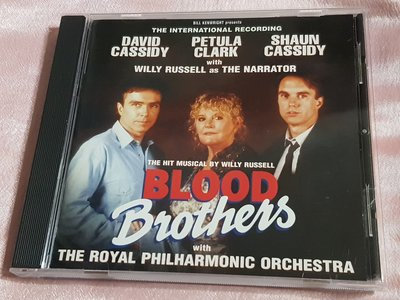 R西洋團(二手CD)BLOOD BROTHERS-The international recording(字)