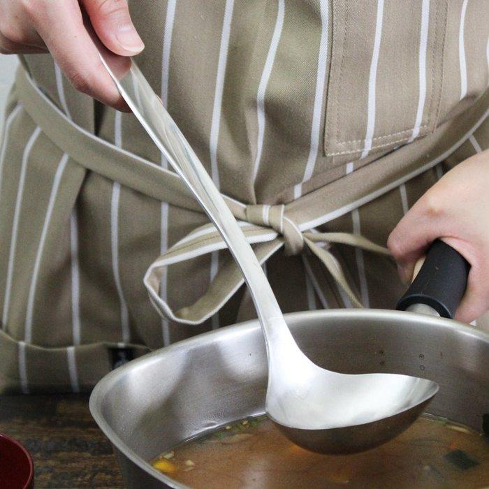 發現花園 日本選物~日本製 柳宗理 Sori Yanagi 不鏽鋼 湯杓 大湯匙~ M號