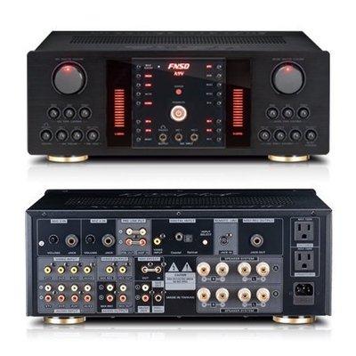 【興如】FNSD HR-2503 450W+450W超大瓦數 卡拉ok擴大機 來店保證超優惠 另售HR-2502