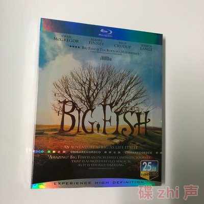 【環球影院】大魚 Big Fish蒂姆·波頓作品 奧斯卡電影BD藍光碟1080P高清修復 精美盒裝