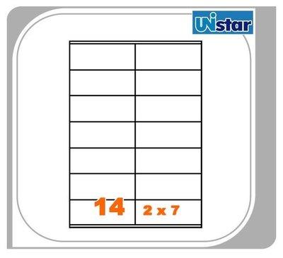 【量販10盒】裕德 電腦標籤 14格 US4452 三用標籤 列印標籤 量販型號可任選