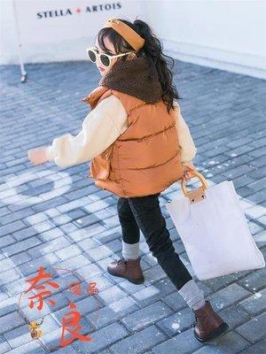 女童外套馬甲外套秋冬加棉加厚韓版潮洋氣保暖無袖